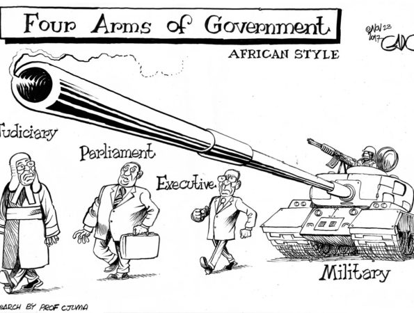 4 Arms of Government – African Style