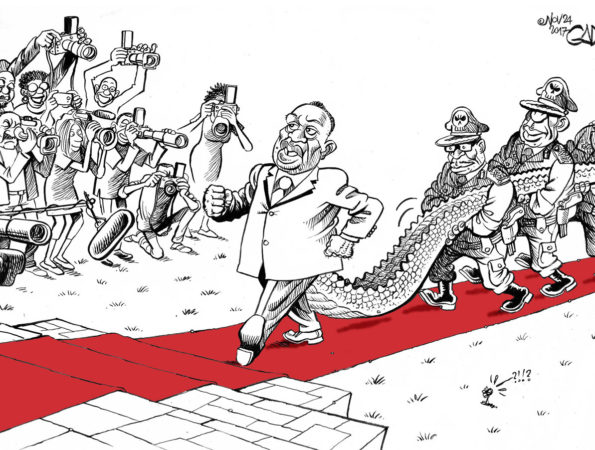 The Crocodile Takes Office in Zimbabwe