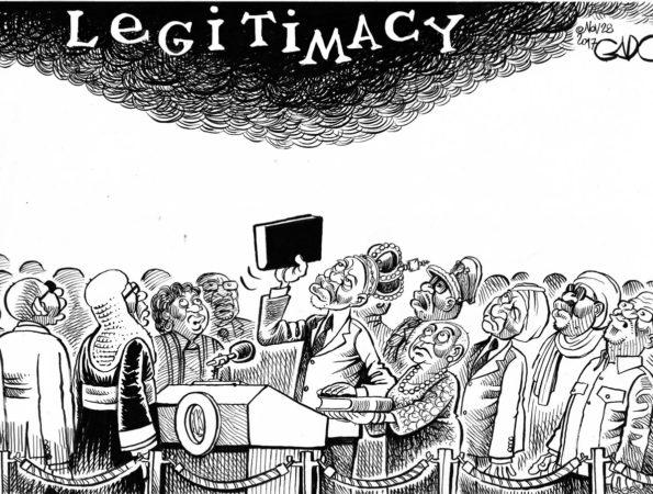 Swearing in Uhuru 2017