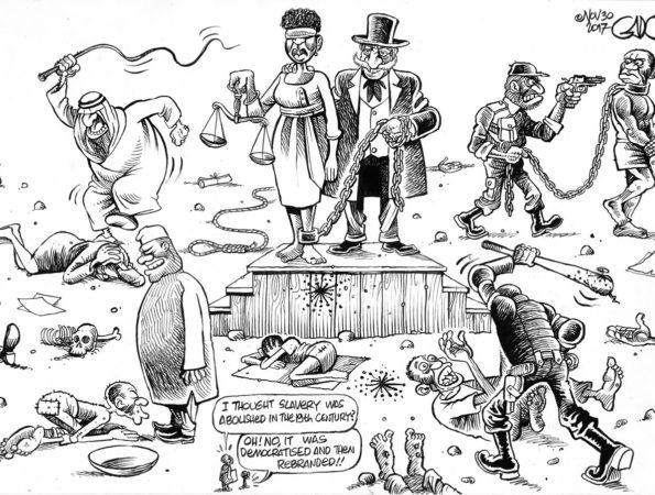 Democratised and Rebranded Slavery