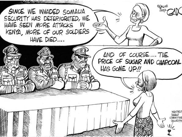 Inquest on Kenya's troops in Somalia