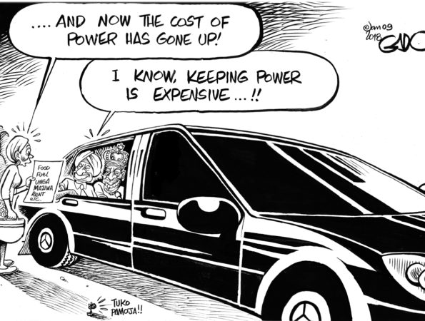 Power is indeed Expensive!