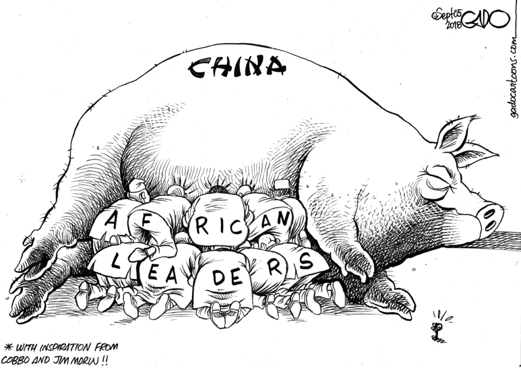 Image result for The Standard》CHINA AFRICAN LEADERS Gado